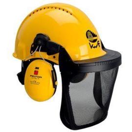 3M PELTOR G22 helm + Optime I + V5B vizier