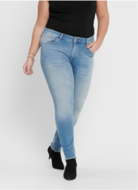 Carwilly reg waist skinny 7/8 light denim