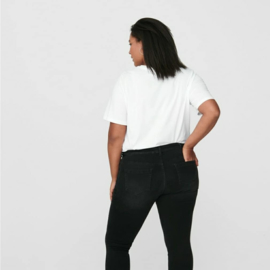 """Carwilly reg waist skinny 7/8 diep zwart 32"""""""