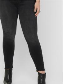 Carwilly reg waist skinny 7/8 zwart