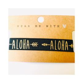 Zwart & goud: Aloha