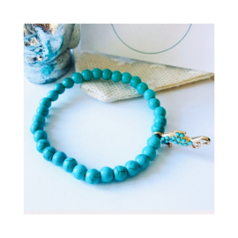 Turquoise - seahorse 'gold'