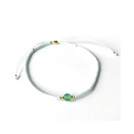 Jade - grijs & goudkleurig