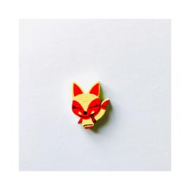 Vosje - Geel / rood