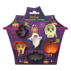 Halloween mini uitstekers - set/6