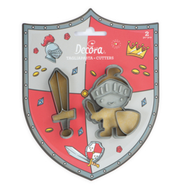 Ridder met zwaard - uitstekers set/2