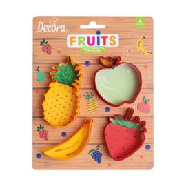 Fruit - uitstekers set/4