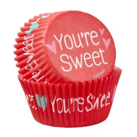 You're Sweet - Bakingcups - pk/75