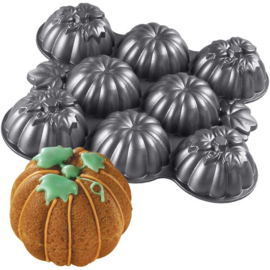 3D Multi Cavity Mini Pumpkins Pan
