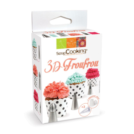 3D froufrou decorating set/6