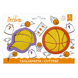 Pet en Basketbal uitstekers - set/2