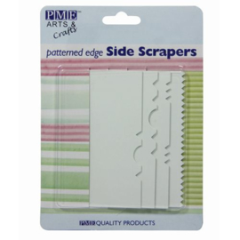Patroon side scrapers - set/4
