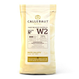 Wit - chocolade callets - 1kg