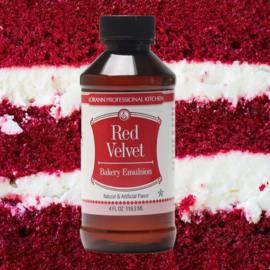 Red Velvet - 118ml - bakvaste emulsie