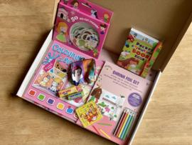 Wees creatief box roze | School & Vakantie