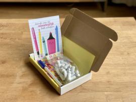 Bedankt voor het ONBESCHRIJFLIJK leuke schooljaar   Snoepboxen