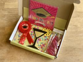 You did it! Gefeliciteerd box   School & Vakantie