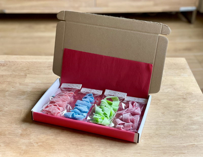 Zure matten box | Snoepboxen