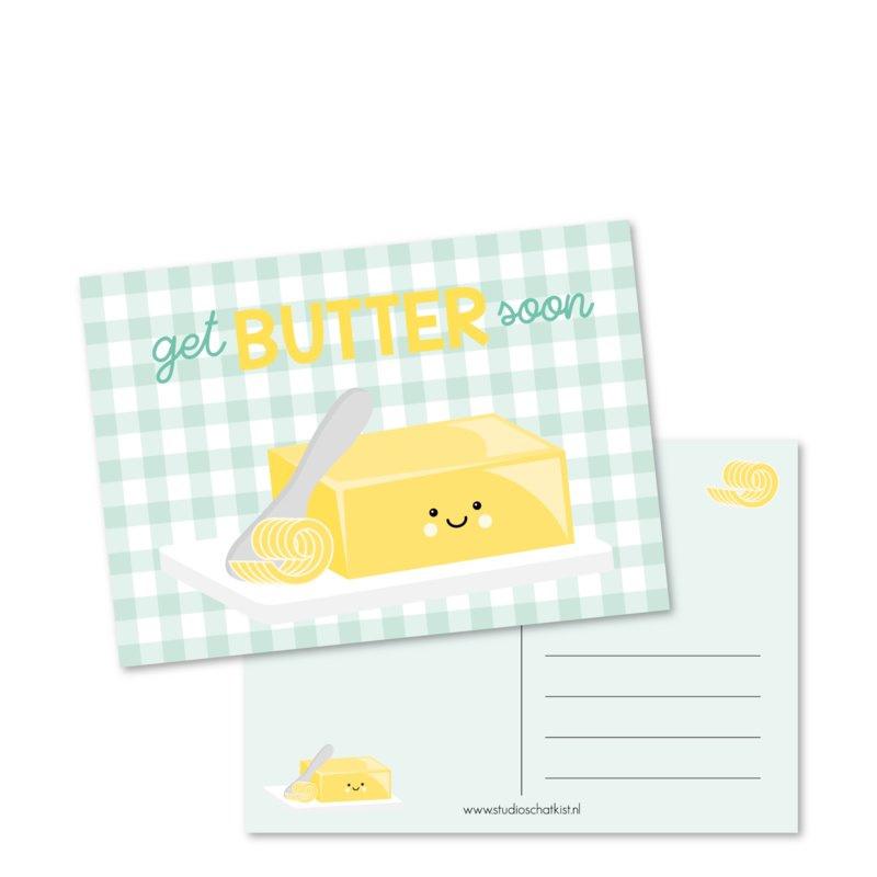 Get BUTTER soon | Kaarten