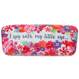Brillenkoker I spy... - blauw
