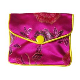 Chinees geldbuideltje roze