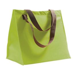 Shopping bag limegroen