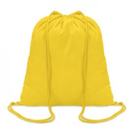 Rugtas katoen geel