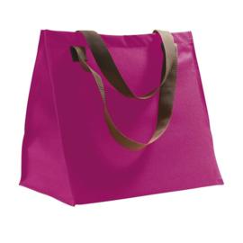 Shopping bag fuchsia