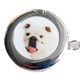 Tashaak hondje met spiegel