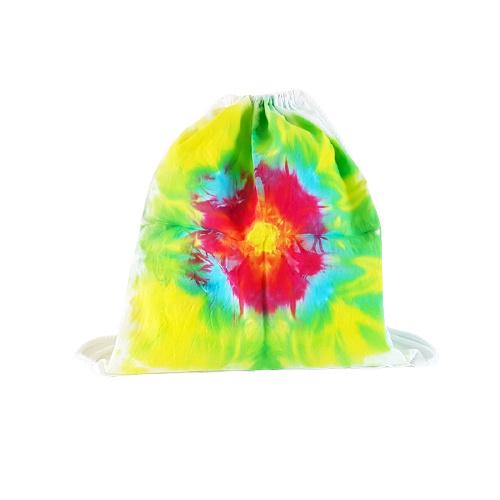 Rugtas handgeverfd - multicolor