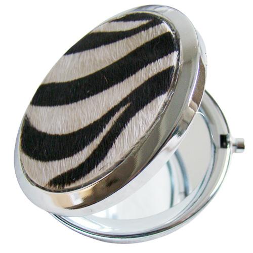 Make-upspiegel zebra