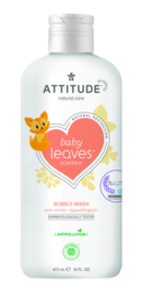 Attitude Baby Leaves - Bubble wash - pear nectar