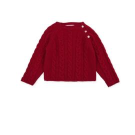 Tutto Piccolo - Rode gebreide trui