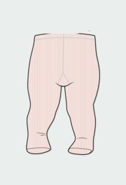 Boboli - Effen roze kousenbroek