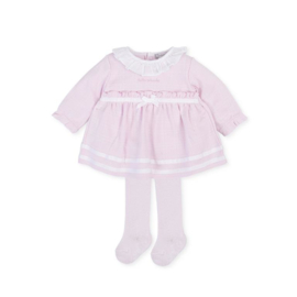 Tutto Piccolo - Roze jurkje met kousenbroekje