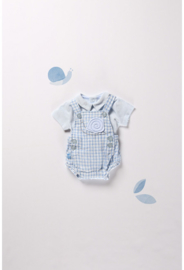 Boboli - 2-delig babyblauw zomerpakje