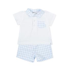 Tutto Piccolo - 2-delig setje: polo shirt en shortje