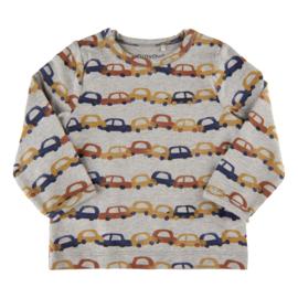 """Minymo - T-shirt """"cars"""" met lange mouwen"""