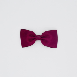 Noah & Sisi - Klassiek haarspeldje met strik - burgundy