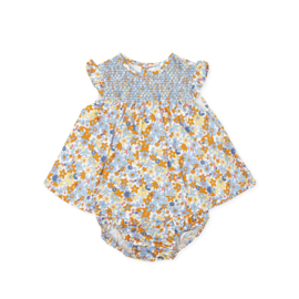 Tutto Piccolo - Fleurig jurkje en bijpassend broekje