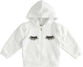 ido - Witte sweater met kap