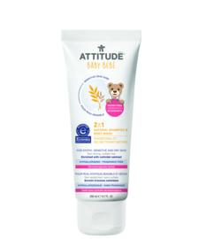 Attitude Sensitive Skin - 2-in-1 natural shampoo & body wash