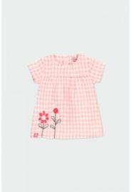 Boboli - Roze Vichy jurk