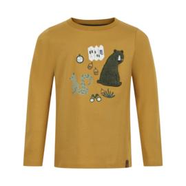 """Minymo - T-shirt met lange mouwen """"bear"""""""