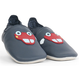 Bobux - Soft Soles Navy Red Racing Car