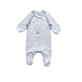Tutto Piccolo - Blauw babypakje met giraf
