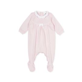 Tutto Piccolo - Roze babypakje met kraagje
