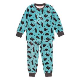 Boboli - Velours pyjama set voor jongens - Bears