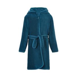 Pippi Babywear - Badjas met capuchon - donkerblauw