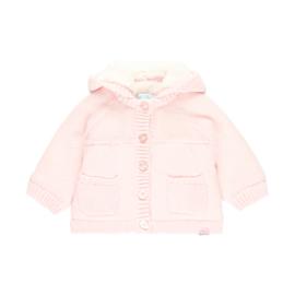 Boboli - Gebreid babyjasje roze
